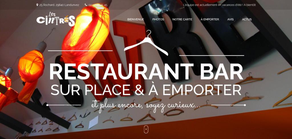 Screenshot_2020-09-08 Les Cintrés – Resto bar à Landunvez, Finistère